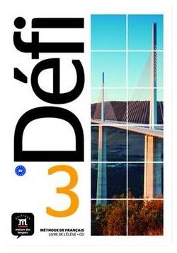 Defi 3 Podręcznik + CD w.francuska LEKTORKLETT