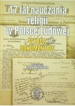 17 lat nauczania religii w Polsce Ludowej