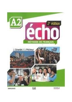 Echo Methode de Francais poziom A2 podręcznik + CD