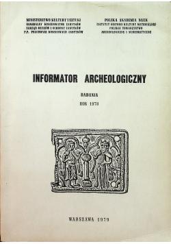 Informator Archeologiczny badania 1978