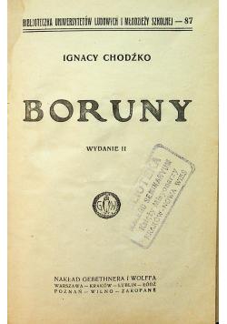 Boruny wydanie II 1925 r.