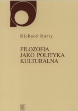 Filozofia jako polityka kulturalna