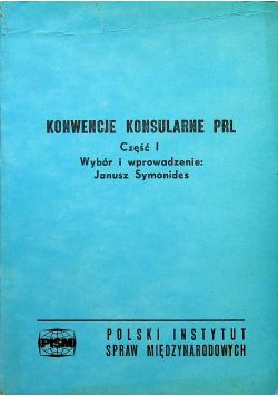 Konwencje Konsularne PRL Część I