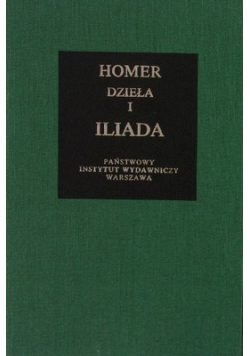 Dzieła 1 Iliada