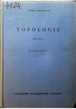 Topologie volume I