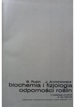 Biochemia i fizjologia odporności roślin
