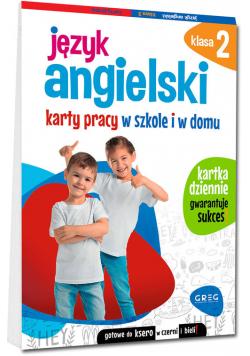 Język angielski Klasa 2 Karty pracy w szkole i w domu
