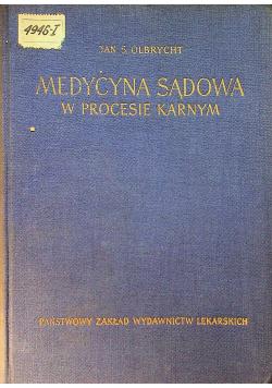 Medycyna sądowa w procesie karnym