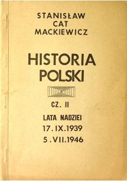 Historia Polski część II