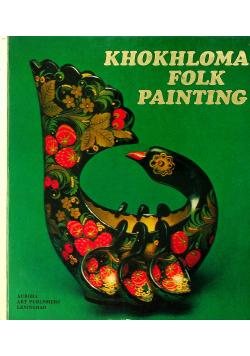 Khokhloma folk painting