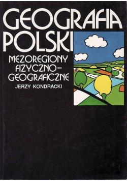 Geografia Polski Mezoregiony fizyczno geograficzne
