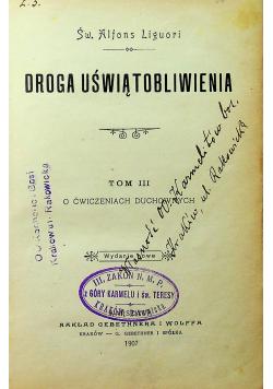 Droga Uświątobliwienia Tom III 1907 r.