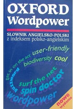 Oxford Wordpower Słownik angielsko polski z indeksem polsko angielskim