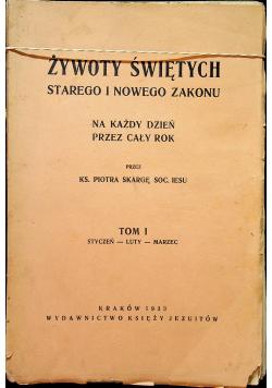 Żywoty świętych starego i nowego zakonu 1933 r