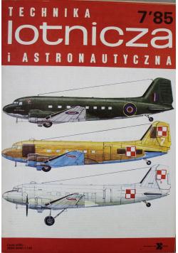 Technika lotnicza i astronautyczna nr 7