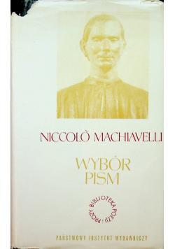 Machiavelli Wybór pism
