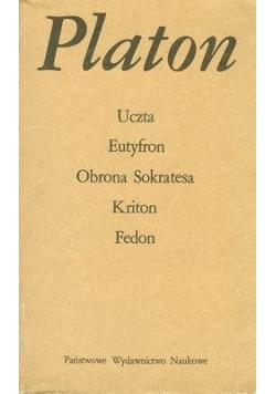Uczta Eutyfron Obrona Sokrates Kriton Fedon