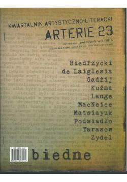 Arterie 23 Kwartalnik artystyczno - literacki Nr 1