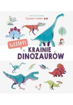 Czytam i wiem! Witamy w krainie dinozaurów