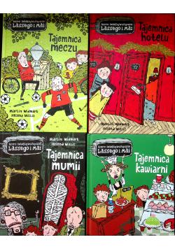 Biuro Detektywistyczne Lassego i Mai Tajemnica 4 tomy