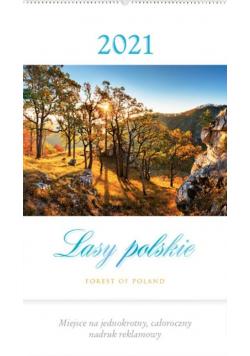 Kalendarz 2021 Reklamowy Lasy polskie RW4