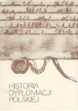 Historia Dyplomacji Polskiej  tom 1