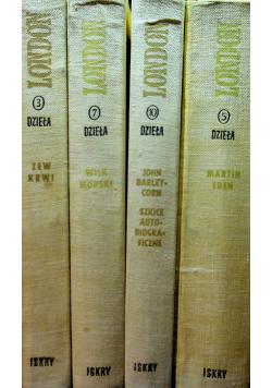London Dzieła wybrane 4 tomy