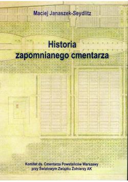 Historia zapomnianego cmentarza