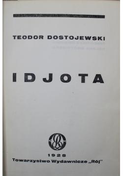 Dzieła Idjota tom od I do II 1928 r.