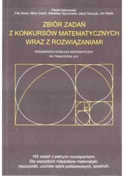 Zbiór zadań z konkursów matemat. z rozwiąz. OMEGA