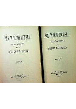 Pan Wołodyjowski 2 tomy Reprint z 1887 r.