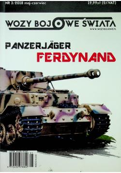 Wozy bojowe świata Panzerjager Ferdynand