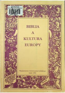 Biblia a kultura Europy Tom I