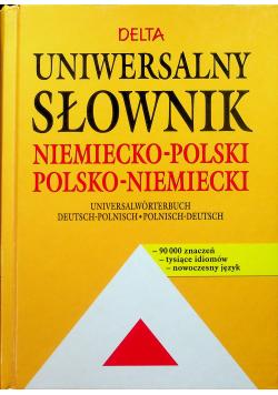 Uniwersalny słownik niemiecko polski