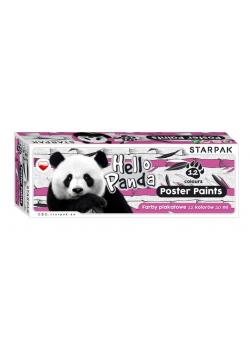 Farby plakatowe 12kol/20ml Panda