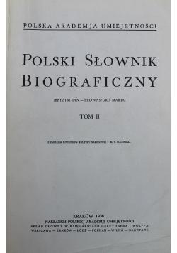 Polski Słownik Biograficzny Tom II reprint z 1936 r