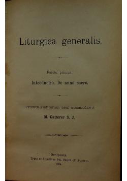 Liturgica generalis 1904 r