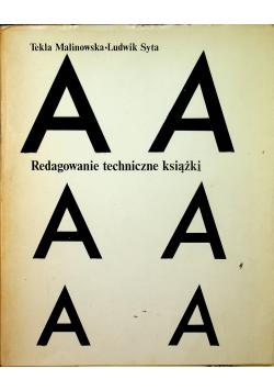 Redagowanie techniczne książki