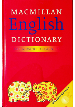 Macmillan English Dictionary for Advanced Learners plus CD