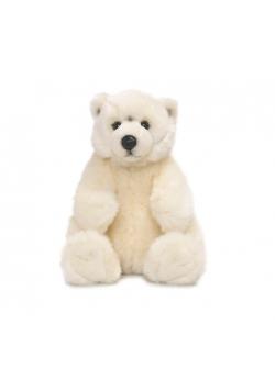 Niedźwiedź polarny siedzący 22cm WWF