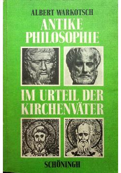 Antike philosophie im urteil der kirchenvater