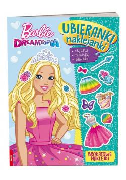 Ubieranki, naklejanki. Barbie Dreamtopia