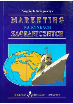 Marketing na rynkach zagranicznych