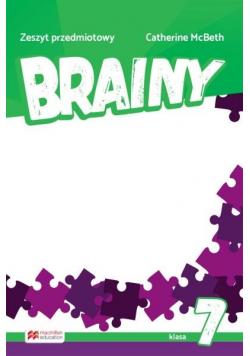 Brainy 7 Zeszyt do języka angielskiego MACMILLAN