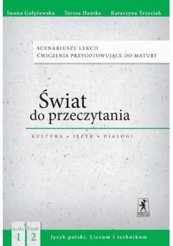 J.Polski LO Świat do przeczytania 1/2 Scenariusze
