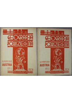 Wielka Geografja powszechna Austria Zeszyt 83 i 84