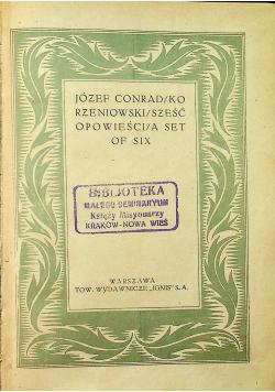 Sześć opowieści 1925r