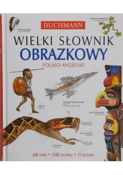 Wielki słownik obrazkowy polsko angielski