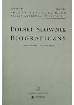 Polski Słownik Biograficzny Zeszyt 197