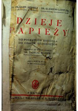 Dzieje Papieży 1936 r.